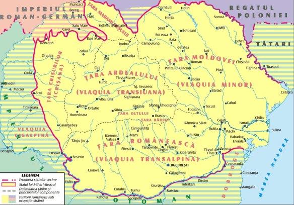 Ţările române sub Mihai Viteazul