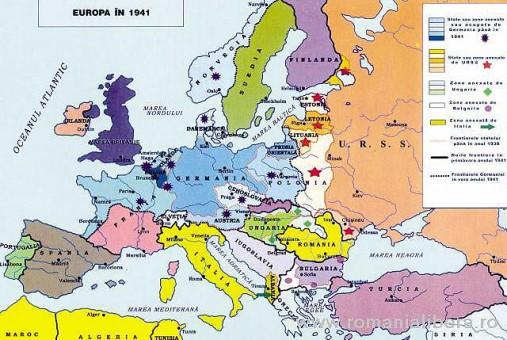 Imagini pentru harta europei 1919 - 1940