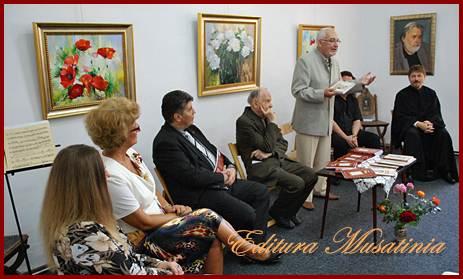Lansare de carte 29 sept 2012 autor Gh. A. M. Ciobanu la Muzeul de Arta din Roman.