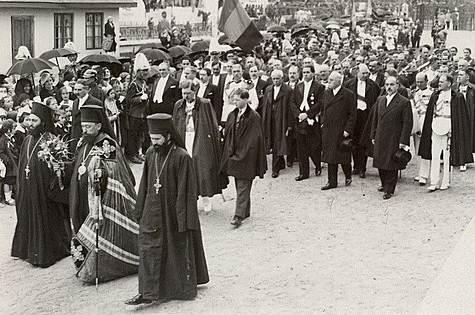 1934, la Balti,cu oaspeti de seama__Carol al II-lea, Mihai I si Gh. Tatarascu