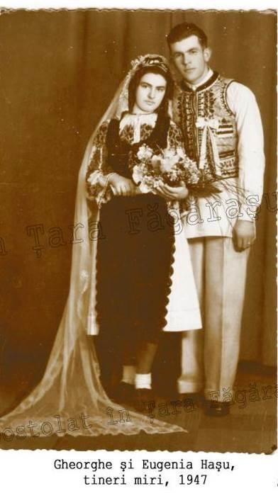 Gheorghe Hasu nunta