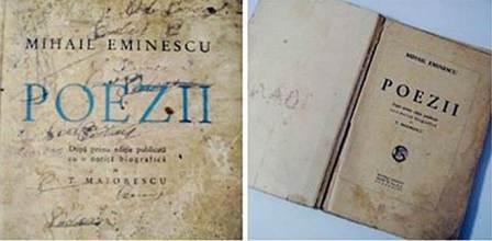 """21 decembrie 1883 – Apare, la editura Socec,  volumul """"Poezii"""" de Mihai Eminescu."""
