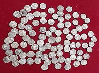 tezaur monede romane