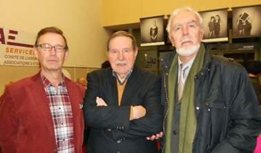 Marcel Krippler si scriitorii Cornel Meder si Ion Lazu